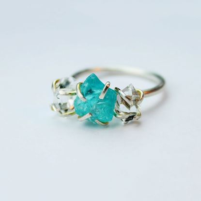 Picture of Vintage Style Engagement Ring